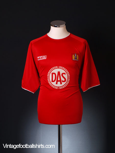 2004-05 Bristol City Home Shirt  L
