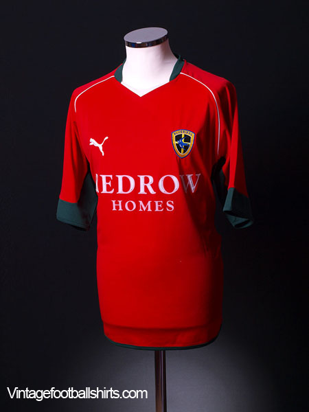 2004-05 Cardiff City Away Shirt L