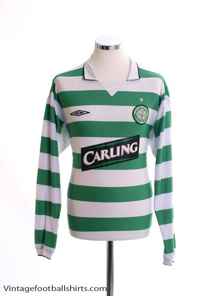 2004-05 Celtic Home Shirt L/S XL