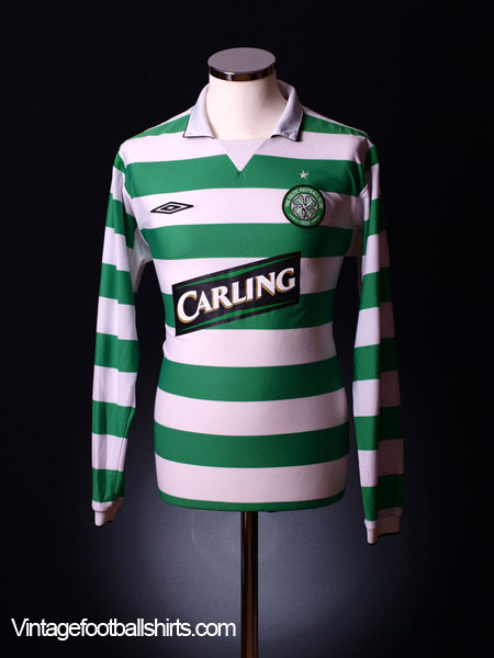 2004-05 Celtic Home Shirt L/S XXL