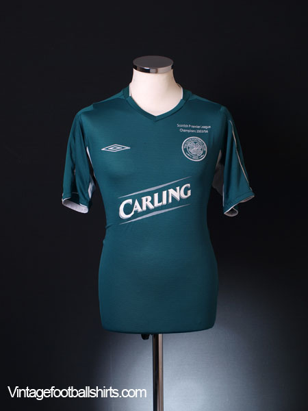 2004-05 Celtic Away Shirt M