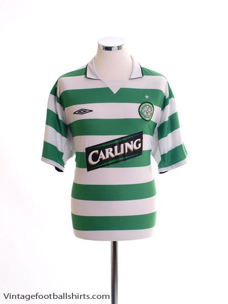 2004-05 Celtic Home Shirt L
