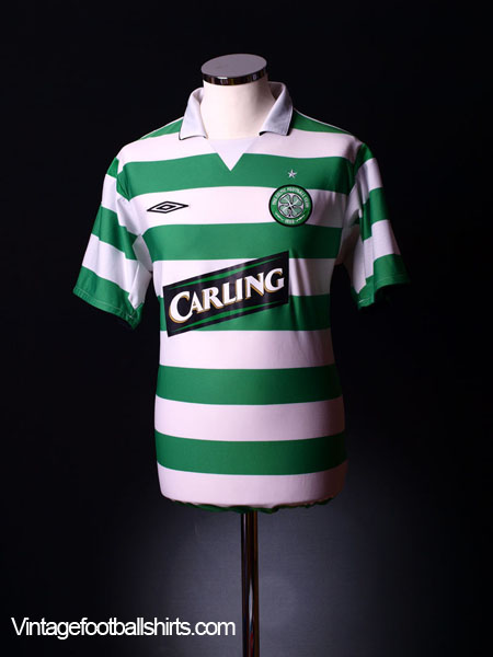 2004-05 Celtic Home Shirt XLB