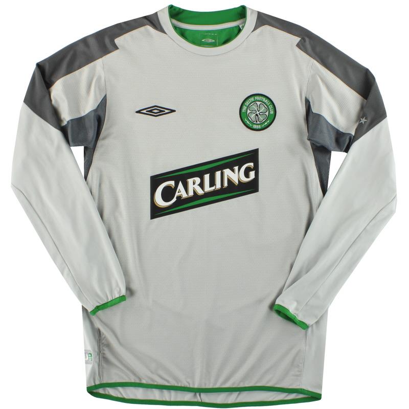 2004-05 Celtic Umbro Goalkeeper Shirt M