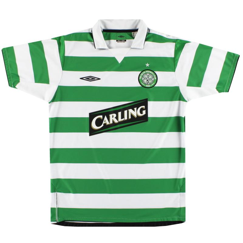2004-05 Celtic Umbro Home Shirt M