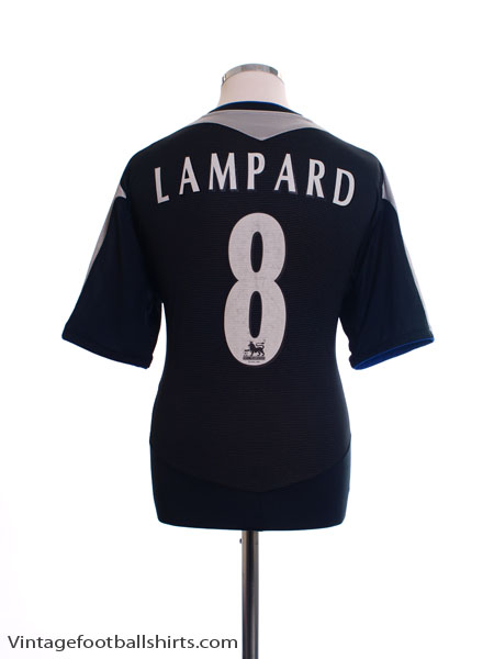 2004-05 Chelsea Away Shirt Lampard #8 XL