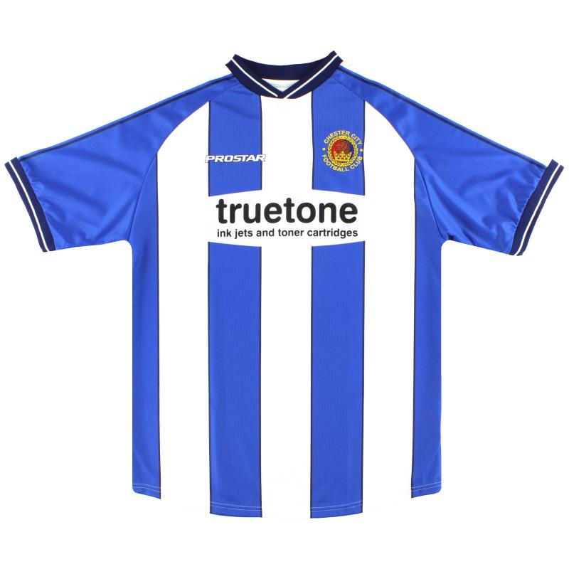 2004-05 Chester City Home Shirt *Mint* L