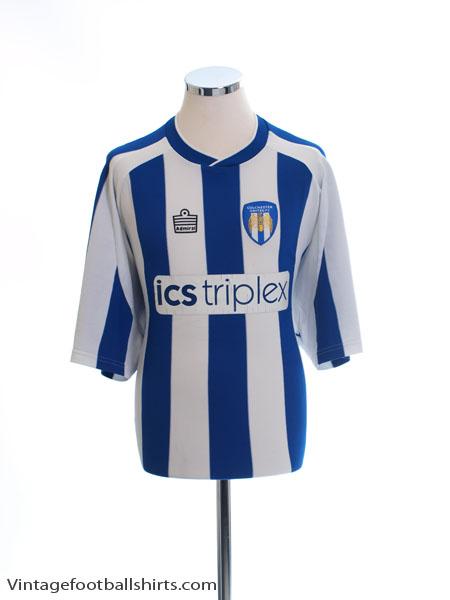 2004-05 Colchester United Home Shirt XL
