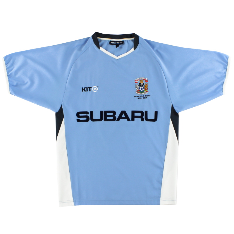 2004-05 Coventry Kit@ Home Shirt S