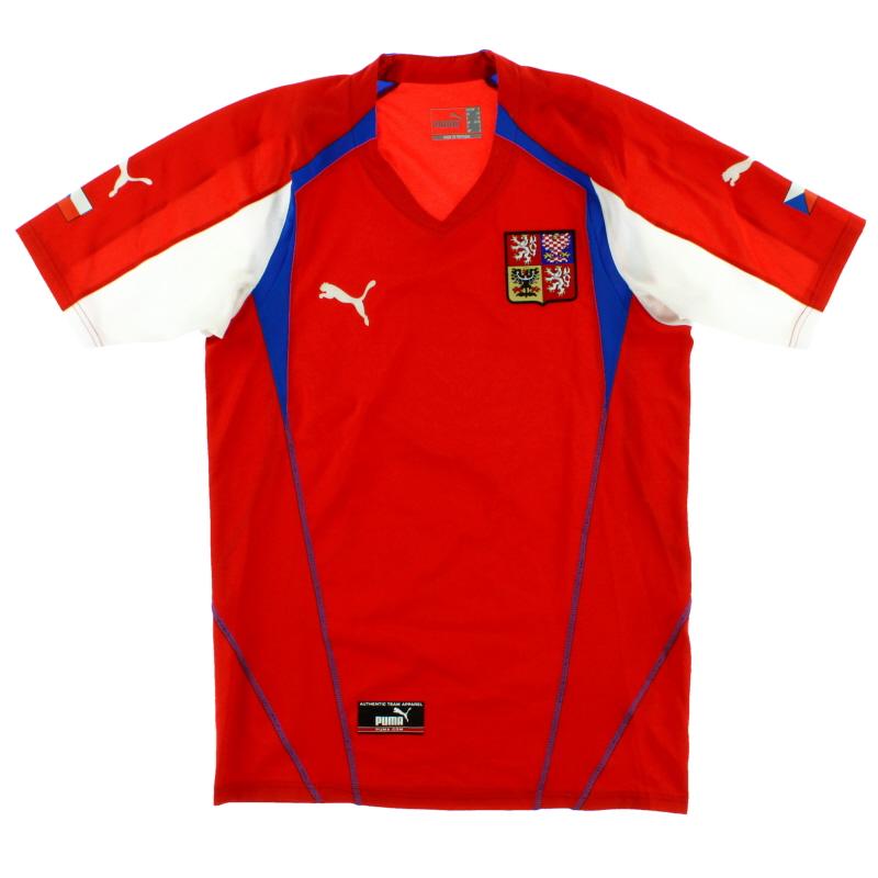 2004-05 Czech Republic Home Shirt *Mint* S