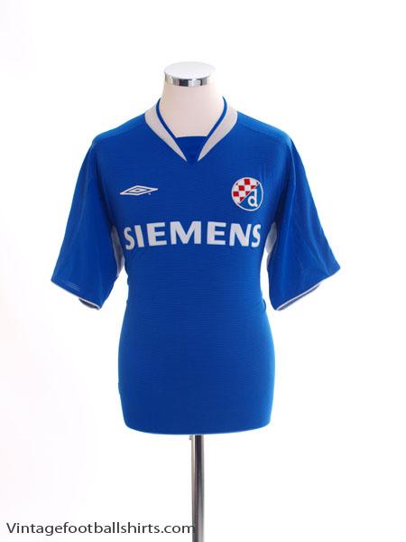 2004-05 Dinamo Zagreb Home Shirt M