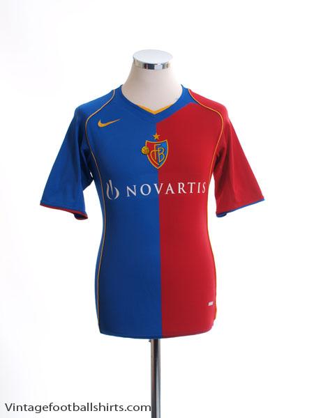 2004-05 FC Basel Home Shirt *Mint* XXL - 118812