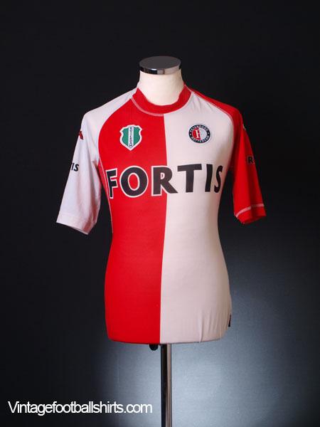 2004-05 Feyenoord Home Shirt S