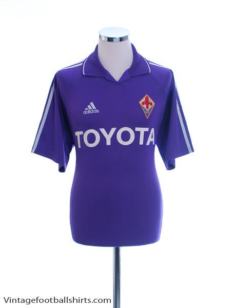 2004-05 Fiorentina Home Shirt L