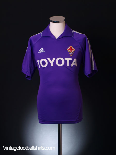 2004-05 Fiorentina Home Shirt S