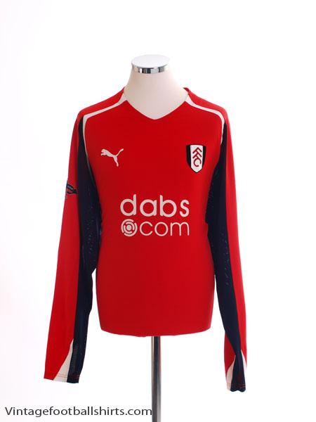 2004-05 Fulham Third Shirt L/S *Mint* L