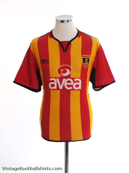 2004-05 Galatasaray Home Shirt S