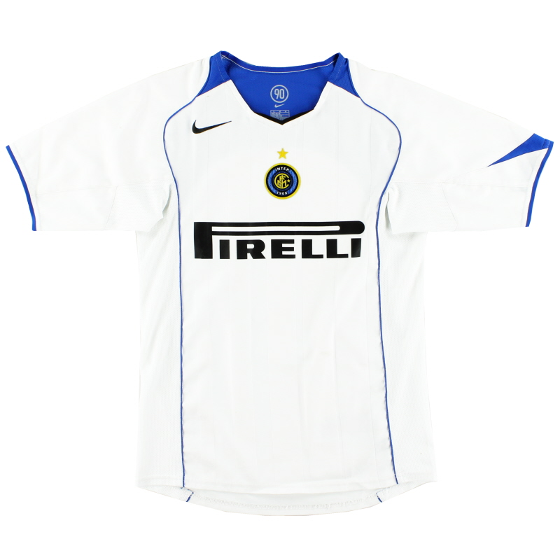 2004-05 Inter Milan Away Shirt L.Boys