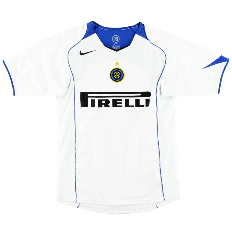 2004-05 Inter Milan Away Shirt L.Boys