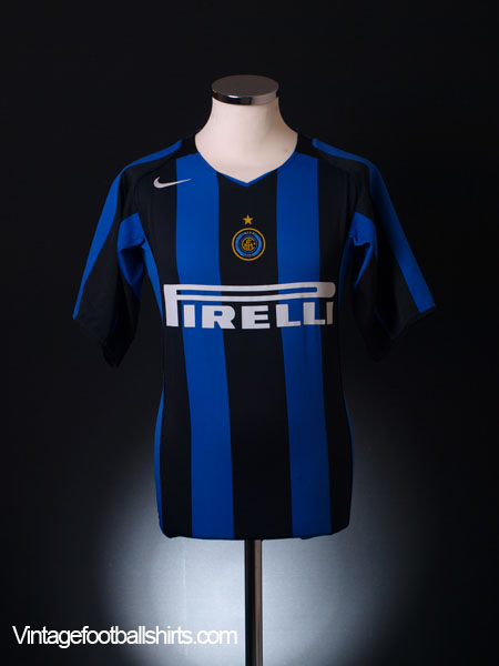 2004-05 Inter Milan Home Shirt M