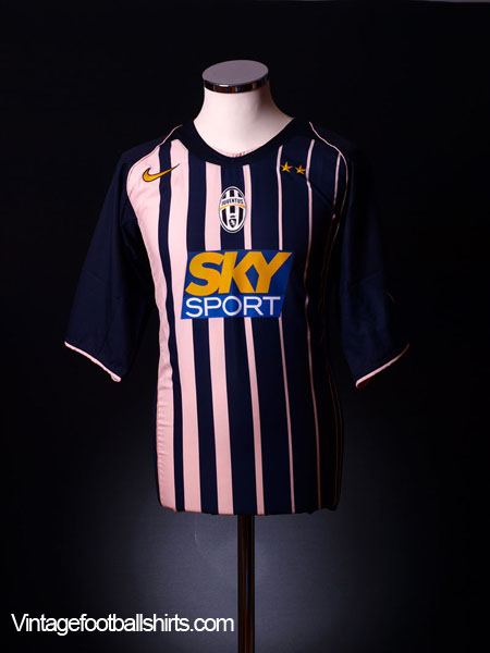 2004-05 Juventus Away Shirt L.Boys