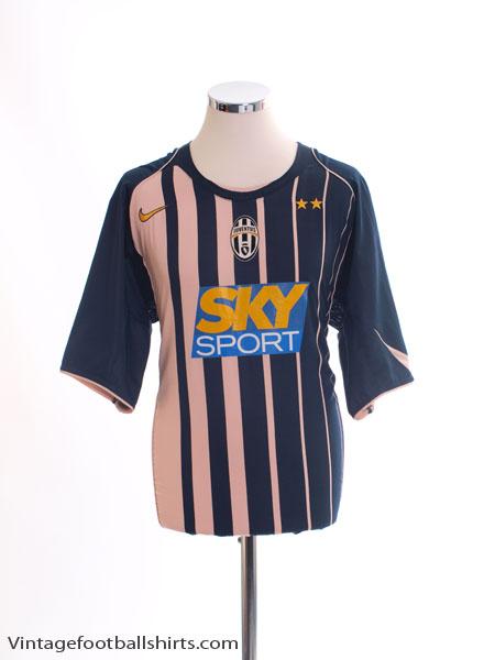 2004-05 Juventus Away Shirt XL
