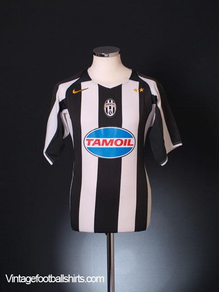 2004-05 Juventus Champions League Shirt L