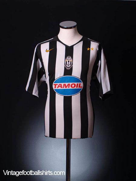2004-05 Juventus CL Shirt XL