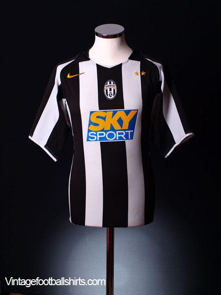 2004-05 Juventus Home Shirt S