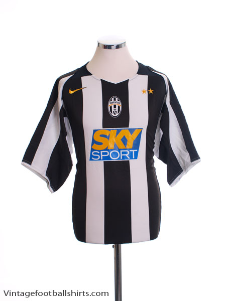 2004-05 Juventus Home Shirt *Mint* L