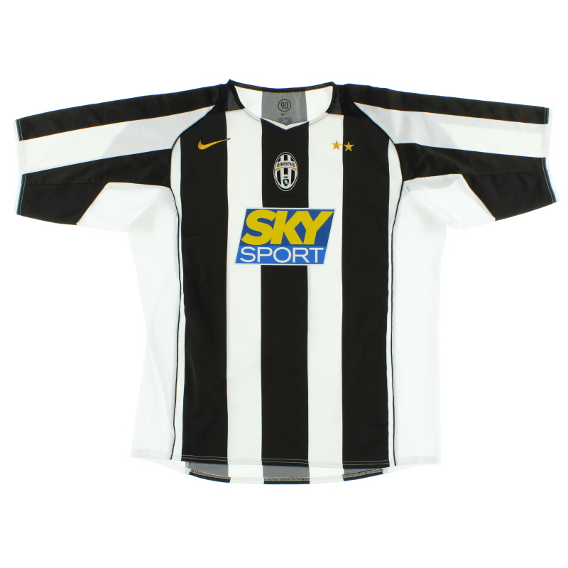 2004-05 Juventus Nike Home Shirt L.Boys