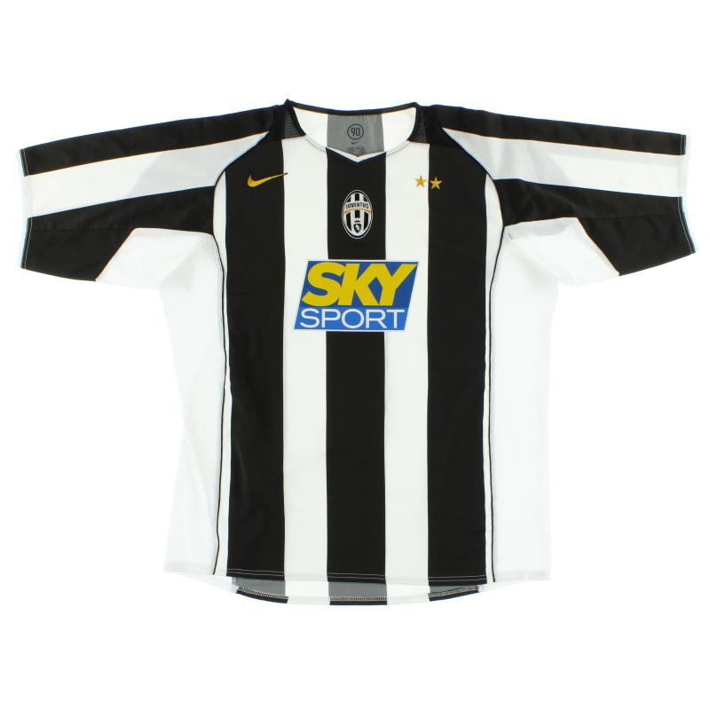 2004-05 Juventus Home Shirt XL - 118752-010