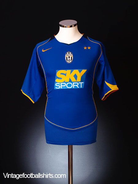 2004-05 Juventus Third Shirt XL