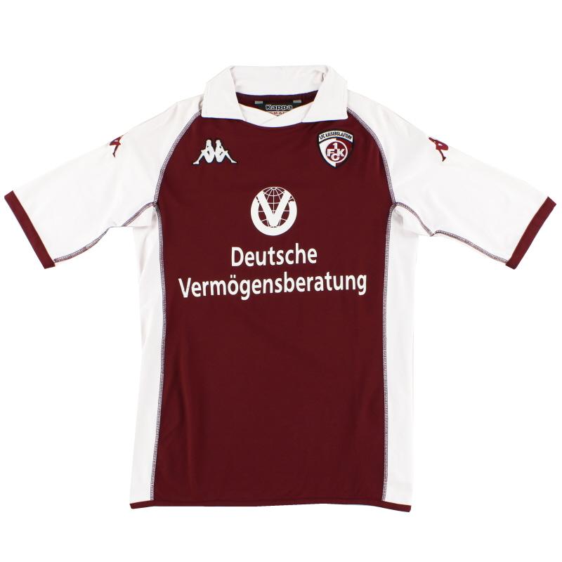 2004-05 Kaiserslautern Home Shirt S