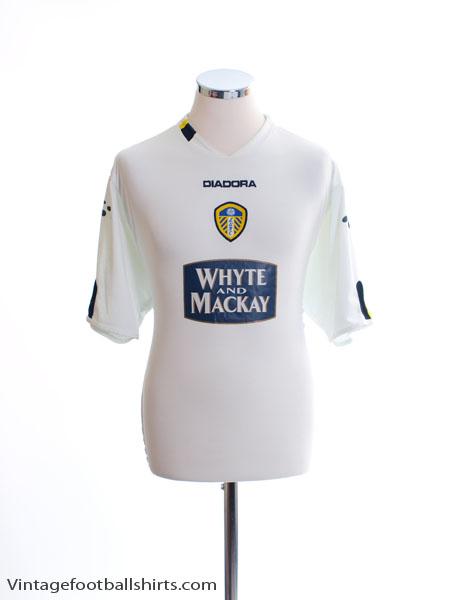 2004-05 Leeds Home Shirt L