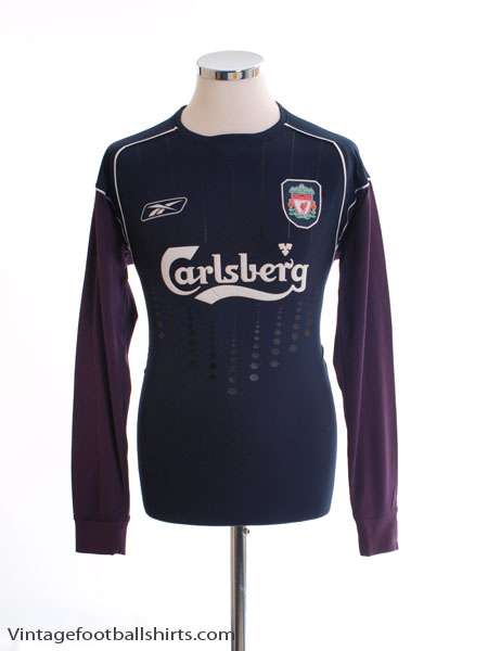 2004-05 Liverpool Goalkeeper Shirt *BNWT* S