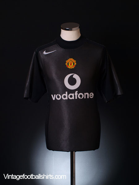 2004-05 Manchester United Goalkeeper Shirt M