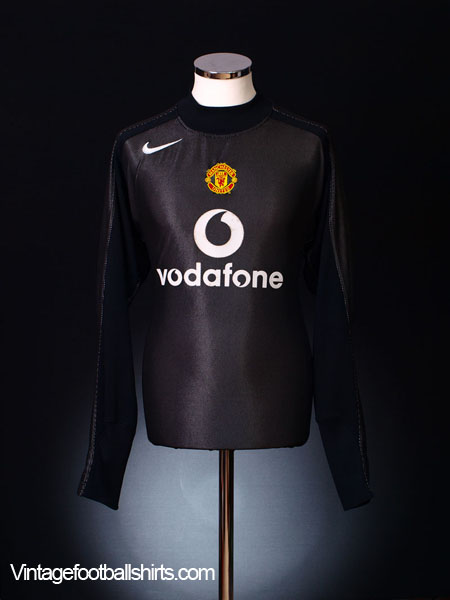 2004-05 Manchester United Goalkeeper Shirt S