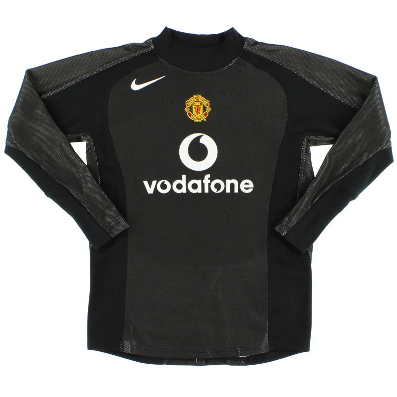 2004-05 Manchester United Goalkeeper Shirt M.Boys - 493447