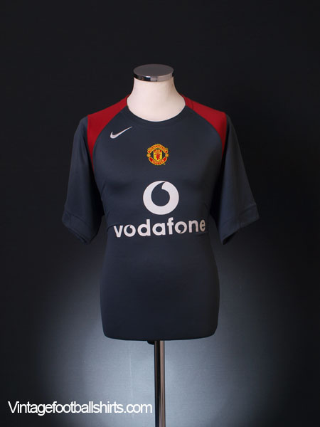 2004-05 Manchester United Nike Training Shirt M