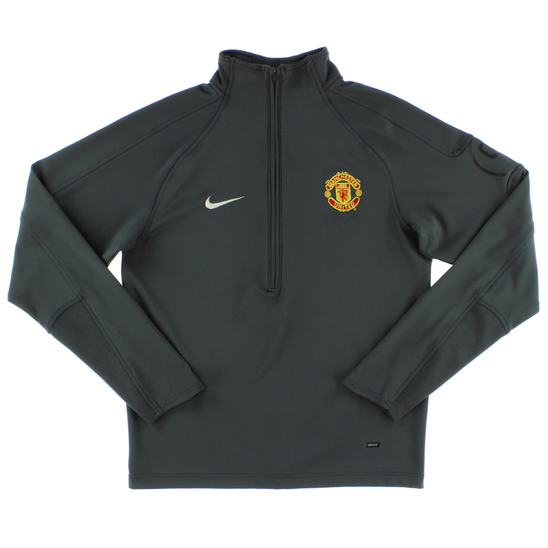 2004-05 Manchester United Nike 1/2 Zip Training Top *Mint* M - 192963