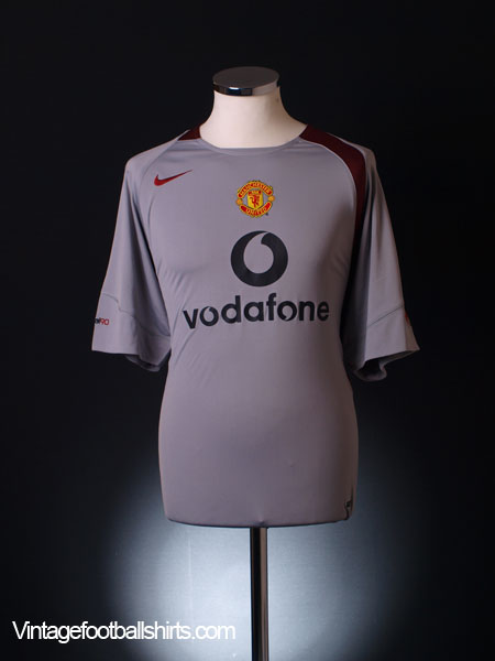 2004-05 Manchester United Nike Training Shirt XXL
