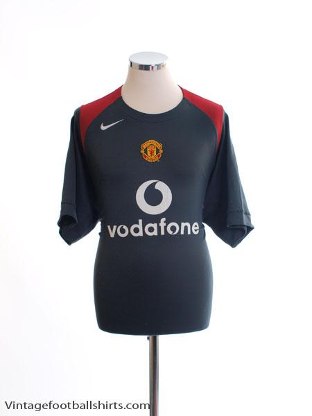 2004-05 Manchester United Training Shirt L