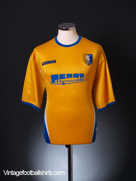 2004-05 Mansfield Town Home Shirt XL