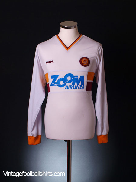 2004-05 Motherwell Away Shirt L/S M