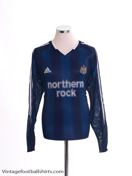 2004-05 Newcastle Away Shirt L/S *Mint* M