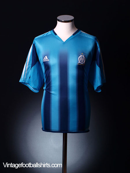 2004-05 Olympique Marseille Away Shirt L