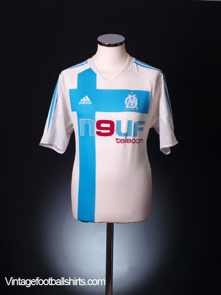 2004-05 Olympique Marseille Home Shirt *Mint* L