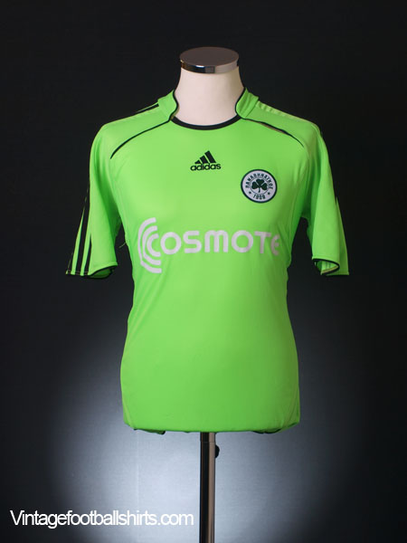 2004-05 Panathinaikos Away Shirt S
