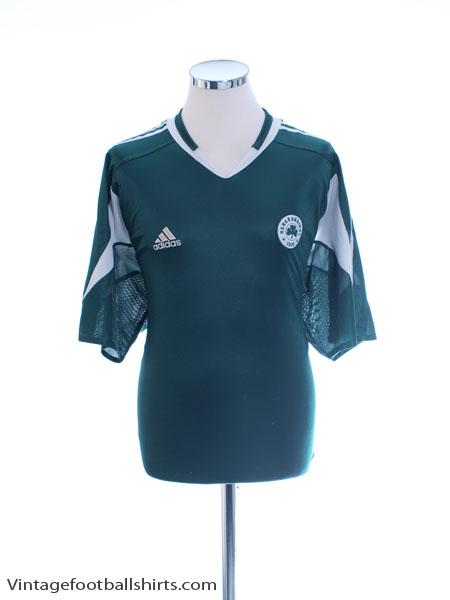 2004-05 Panathinaikos Home Shirt *Mint* XL - 368437